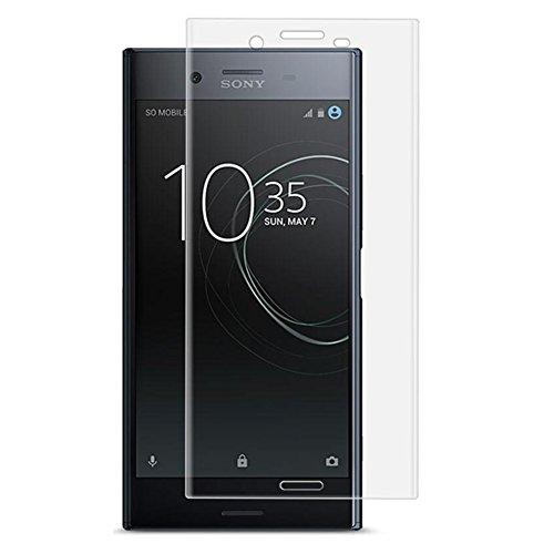 XMTN Sony Xperia XZ1 5.2' Pellicola Protettiva,3D Copertura Completa in Durezza 9H Vetro Temperato Protezione Schermo per Sony Xperia XZ1 Smartphone (Trasparente)