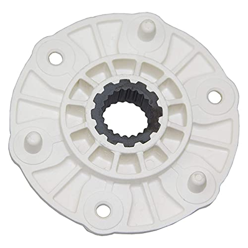 MBF618448 PBT-GF30 Washer Rotor Hub Assembly Compatible With LG 4413EA1002B 4413ER1003B 4413ER1002F 4413ER1001C