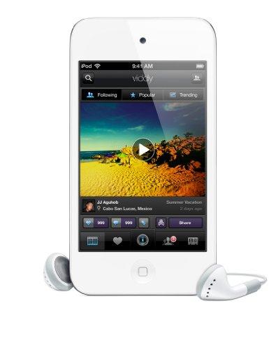 Apple iPod touch 4G MP3-Player (Facetime, HD Video, Retina Display) 8 GB, weiß (Generalüberholt)