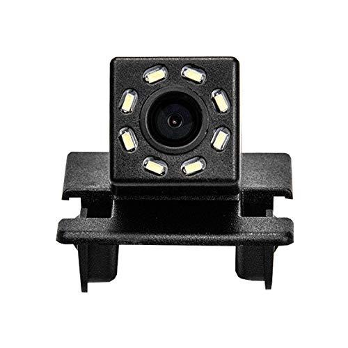 HD 720p Nachtsicht Rueckfahrkamera Wasserdicht Farbkamera 170° Rückfahrkamera Kennzeichenleuchte Einparkhilfe Kamera für Mazda 2(5 Doors) 2016~2018