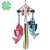 京ちりめん下げ飾りの手作りキット(鯉の滝のぼり) 端午の節句 五月人形 鯉のぼり 男の子 プレゼント 子供の日
