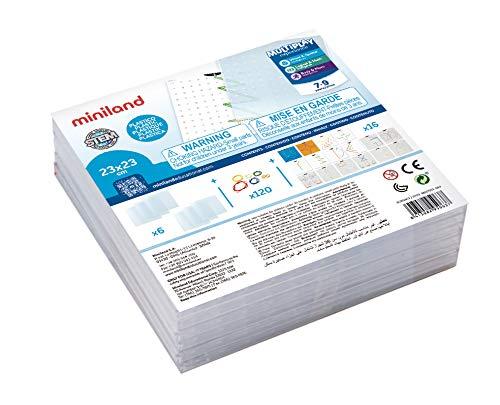 Miniland- Activity Abacus Multibase Geoplanos Transparentes (95063)