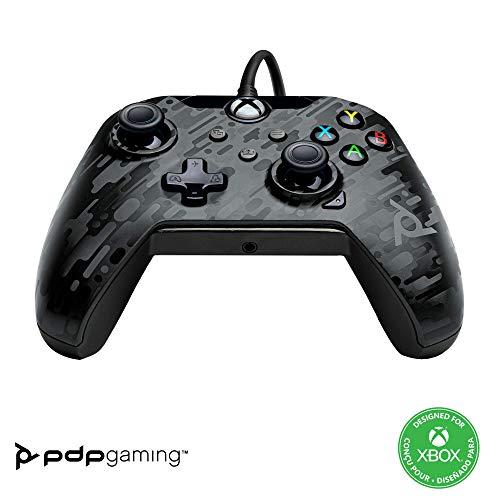 PDP Manette Filaire pour Xbox Series XIS Camo Noir
