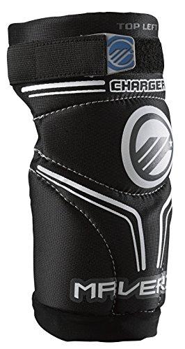 Maverik Lacrosse Charger Arm Pad, Black, X-Small