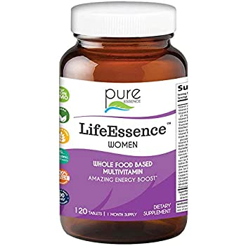 Pure Essence Labs LifeEssence Women s Formula - World s Most Energetic Multiple - The Master Multiple - 120 Tablets