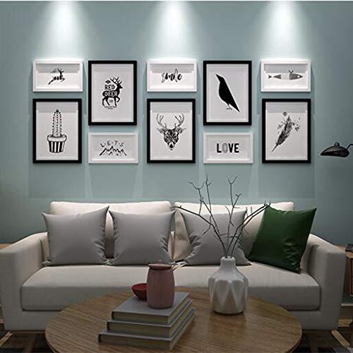 Material Decorativo Conjunto De Marcos De Fotos Sala De Esta