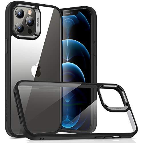 ESR Cover Compatibile con iPhone 6.1 Pollice 12 e 12 PRO, Serie Hybrid Protezione, Trasparente e Nero