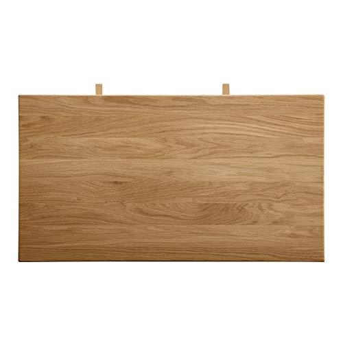 Marca Amazon -Alkove - Hayes - Extensiones para mesa de madera maciza (roble salvaje)