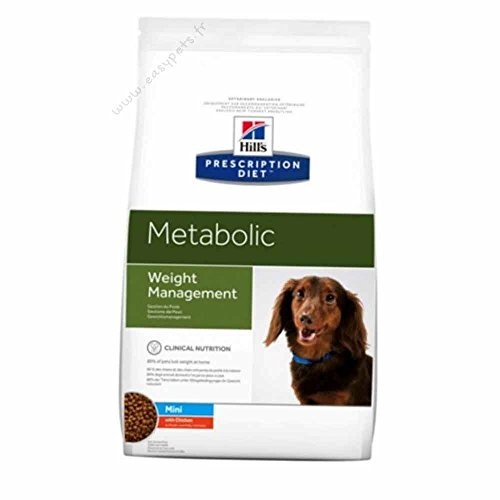 prescription diet canine metabolic mini per il controllo del peso mangime secco kg.6