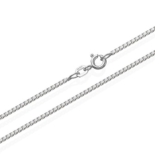 NKlaus Venezia 1 Silber Kette 3634, 50 cm lang, 6 Gramm 1,4 mm Breit