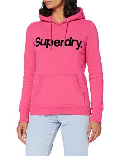 felpa superdry Superdry Cl Flock Hood Felpa con Cappuccio