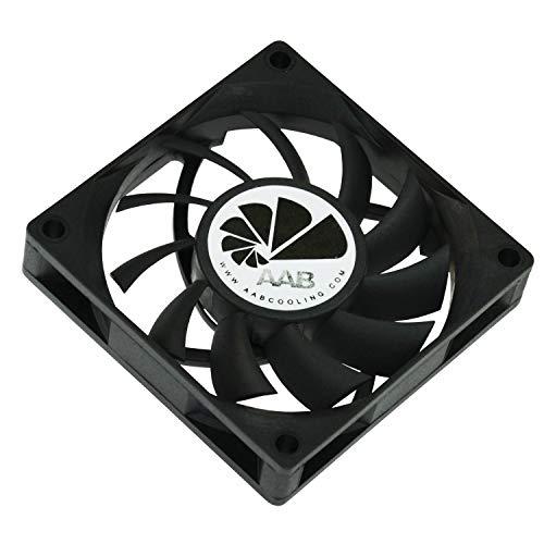AABCOOLING Fan 7 - Un Silencioso Ventilador PC de la Serie Económica, Fan PC, Ventilador 12V Coche, Ventilador 7cm, 70mm Fan Cooler, 29 m3/h, 2500 RPM 24 dB (A)