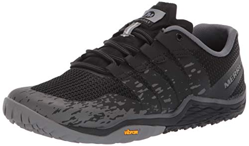 Merrell Women's Trail Glove 5 Sneaker, Black, 07.0 M US