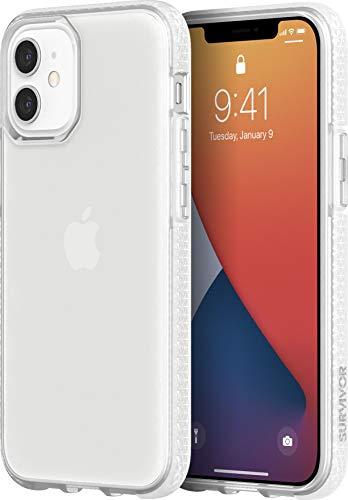 Griffin Technology Survivor Clear GIP-049-CLR - Carcasa Protectora para iPhone 12 Mini, Transparente