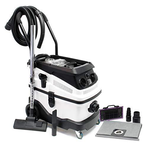Bidone aspiratutto secco umido 1600w filtro a 3 livelli e accessori Aspiratore liquidi solidi