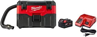 Milwaukee 0880-20P M18 Wet/Dry Vacuum with XC5.0 Starter Kit