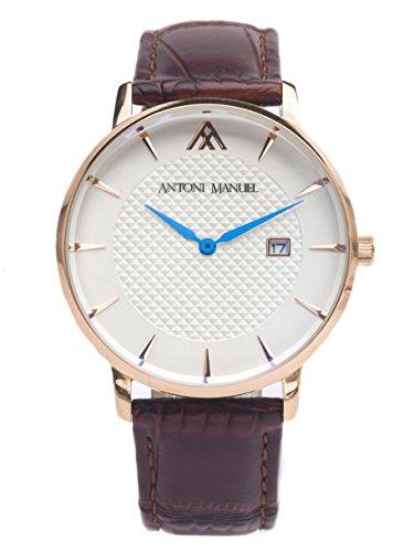Blanco G. Miller Classico-Reloj