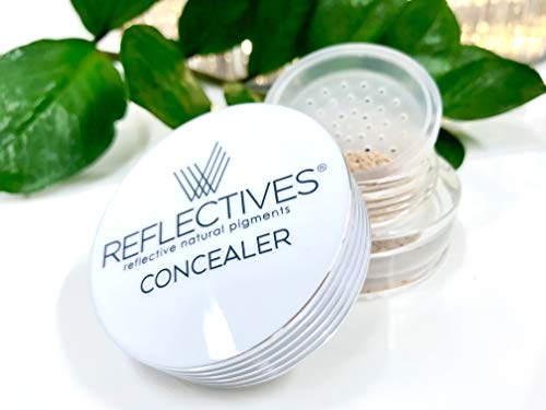 REFLECTIVES MINERAL CONCEALER PUDER der erste Schritt zum perfekten Hautbild in 7 verschiedenen Farben(neutral - hell)