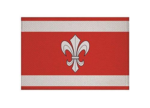 U24 Aufnäher Ahnatal Fahne Flagge Aufbügler Patch 9 x 6 cm