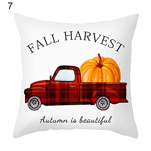 Cushion Cover Super Soft Adorable Thanksgiving Themed Pillowslip Great 7