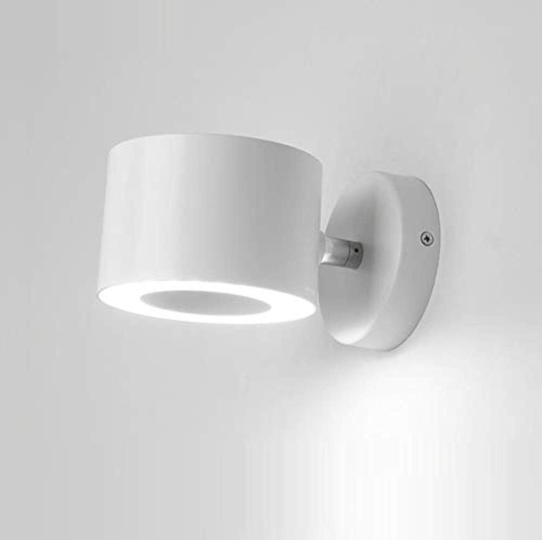 OwentsWall Lampe Kreative Einfache Led Wandleuchte Moderne Hotel Schlafzimmer Wohnzimmer Wei Mode Bett mit Schalter Lesen Wandleuchte