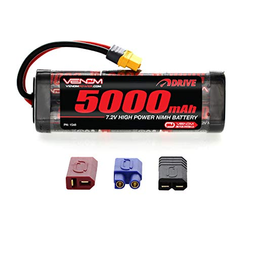 Venom 7.2V 5000mAh 6-Cell NiMH Battery with Universal Plug (EC3/Deans/Traxxas/Tamiya)