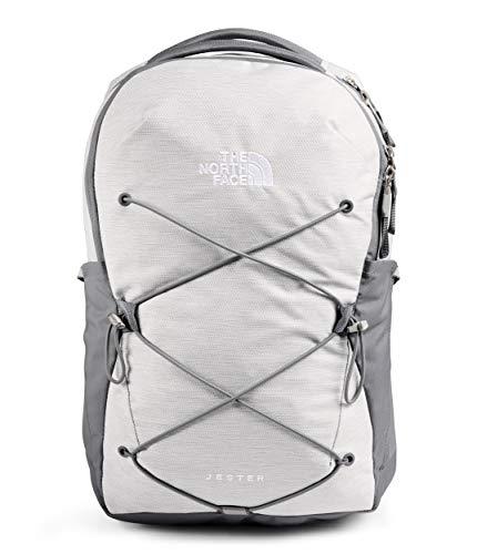 The North Face Damen Jester Rucksack, TNF White Metallic Mélange/Mid Grey, Einheitsgröße