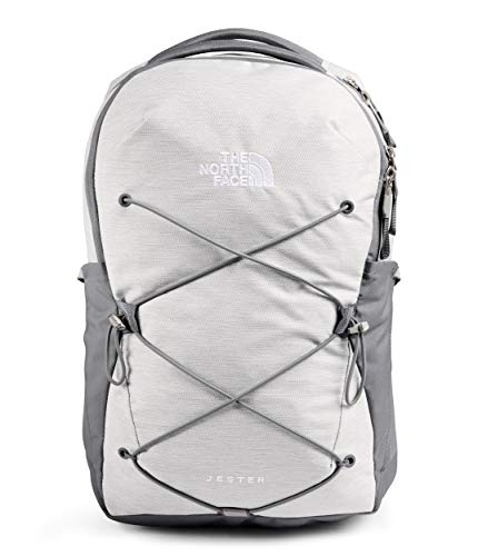The North Face Jester Mochila, TNF White Metallic Melange/Mid Grey, talla única