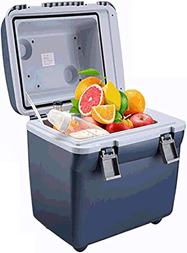 MQJ Car Fridge Freezer, 20L Electric Cooler and Warmer, 12V Dc Powered, Portable Lightweight, Compact, Portable and Quiet