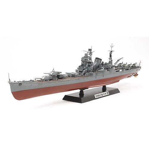 Tamiya 300078024 - Modellino incrociatore Pesante Flotta Giapponese, Scala 1:350
