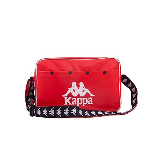 Kappa BORSA TRACOLLA POPMUSIC AUTH SHOULDER BAG ROSSO