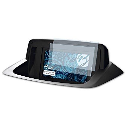Bruni Schutzfolie kompatibel mit Tomtom Carminat Folie, glasklare Displayschutzfolie (2X)