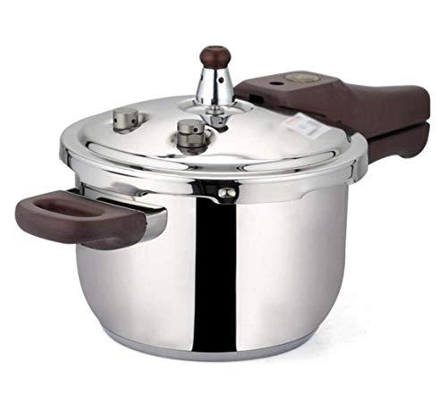 YFGQBCP Robot Cocina Olla a presión de Acero Inoxidable de Vapor Olla de cocción Lenta y Junta de Silicona Olla elástico for Utensilios de Cocina for cocinar Restaurante Familiar (Size : 6L)