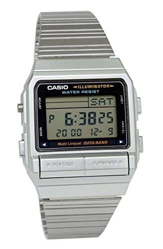 カシオ CASIO メンズ 腕時計 データバンク 防水 DB-380-1D シルバー [並行輸入品]