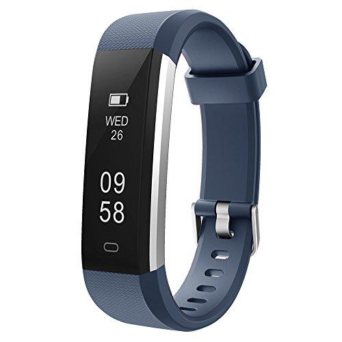 COOLEAD Pulsera Actividad Mujer Hombre Reloj Inteligente Podómetro Monitor de Actividad Impermeable IP67 Fitness Tracker… 1