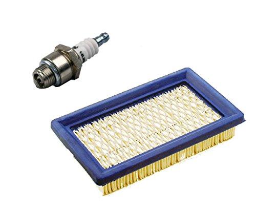 gardexx Luftfilter, Flachluftfilter + Zündkerze für Rasenmäher MTD ThorX, Honda GXV