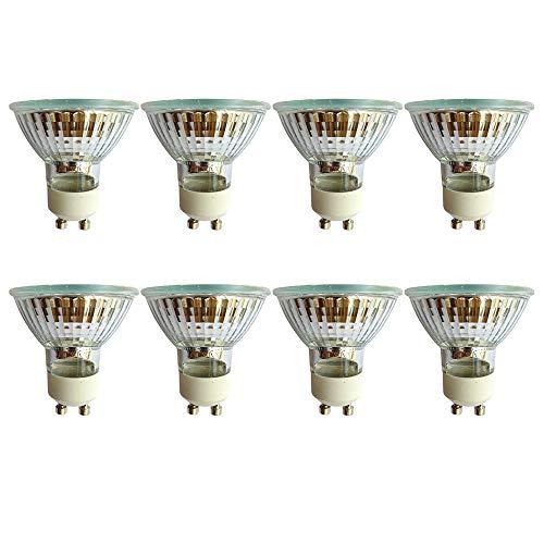 10er Set Ampoules DEL gu10 230 V 8 W blanc chaud