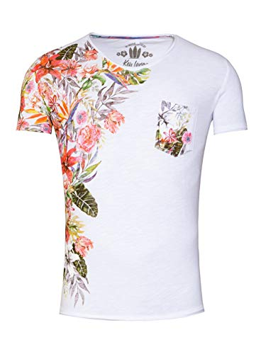 KEY LARGO Herren Shirt Babylon weiß L