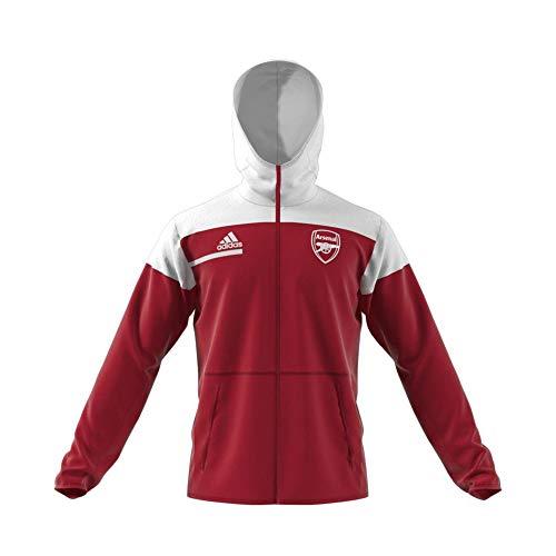 adidas Arsenal FC Temporada 2020/21 AFC ZNE Chaqueta, Unisex, maract/Blanco, S