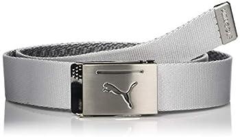 PUMA Golf 2019 Men s Reversible Web Belt  One Size  Bright White