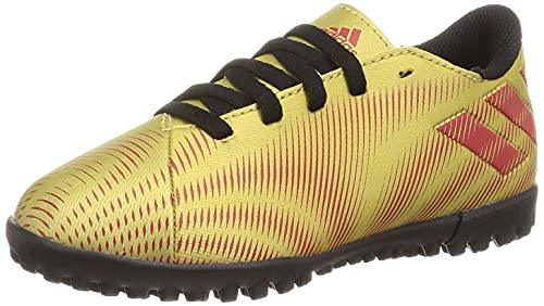 adidas Nemeziz Messi .4 TF J, Zapatillas de fútbol, Dormet/Escarl/NEGBÁS, 34 EU
