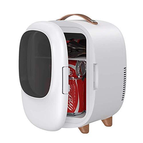 FYSY Mini refrigerador del refrigerador más Caliente, eléctrico portátil congelador Nevera portátil for la Pesca de Viaje de conducción al Aire Libre o en casa-White fangkai77 (Color : White)