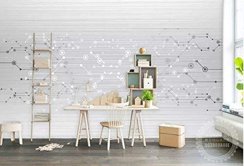 Tapete 3D Moderne Minimalistische Mode Schaltplan Hintergrund Wanddekoration Malerei Wohnzimmer Schlafzimmer Tv Sofa Hintergrund Wandbild 3D Tapete-430Cmx300Cm
