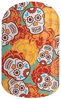 Jamberry Nail Wraps - Calaca - Full Sheet - Sugar Skulls, Viva Mexico, Dia De Los Muertos