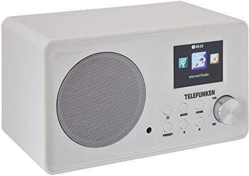 Telefunken RI1000 Internet-Radio (WLAN, PLL-Tuner, UKW-Radio, Dual Alarm Weckfunktion)