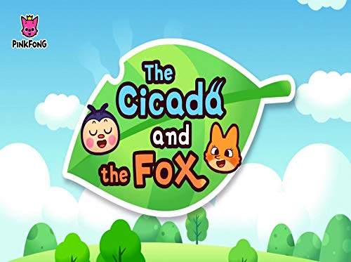 Pinkfong 5 Minute Stories: Vol 9 - The Cidada And The Fox   - Great 5-Minute Fairy Tale And Bedtime Story Picture Book For Kids, Boys, Girls, Children Of All Age (English Edition)