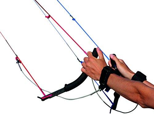 Flexifoil 4-Leiner Griffe + Sicherheitssystem für Lenkdrachen Lenkmatte