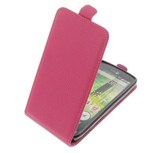 foto-kontor Tasche für Doro Liberto 825 Smartphone Flipstyle Schutz Hülle pink