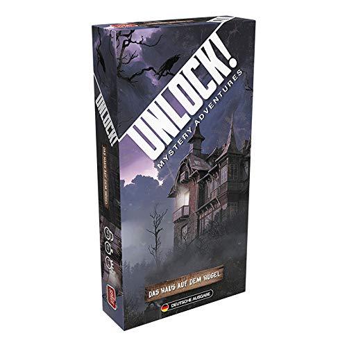 Space Cowboys SCOD0033 Unlock Mystery Adventures-Das Haus auf dem Hügel (Einzelszenario), Mehrfarbig, bunt