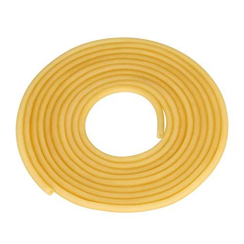 TEN-HIGH Tubo de Latex Manguera Flexible de Goma Tubo Flexible Latex, Diá 3mm x 5mm Longitud de 5m